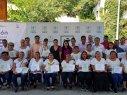 Se llevo acabo la clausura y pago de beca a beneficiarios del curso de Panaderíaen TetecalaBolsos DecorativosenCoatlán del Ríoy Productos de Belleza e HigieneenMazatepec