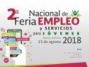 Te invitamos a la 2° Feria de Empleo para jóvenes Jojutla 2018