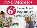SNE Morelos recibe premio de 6° lugar en 38ª Reunión Anual
