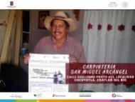 arpintería San Miguel Arcángel  Coatlán del Río  Fomento al Autoempleo Monto $15,776
