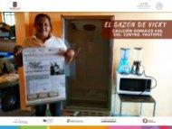 El Sazón de Vicky  Yautepec  Fomento al Autoempleo Monto $19,800
