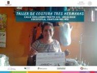 Taller de Costura Tres Hermanas  Coatlán del Río Fomento al Autoempleo Monto $18,792