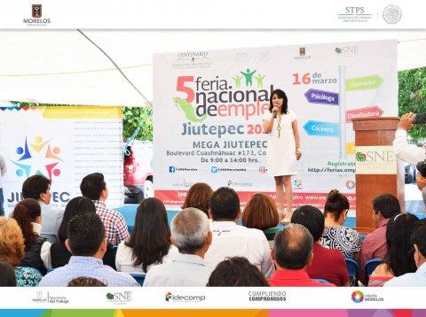 SNE Morelos llevó a cabo la 5a Feria nacional de empleo Jiutepec 2017