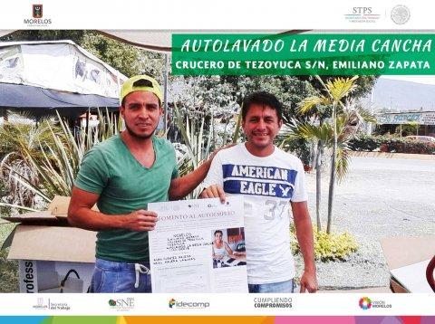 Autolavado la Media Cancha  Emiliano Zapata  Fomento al Autoempleo  Monto $39,600.08