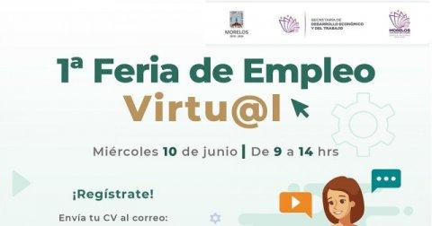 """<a href=""""/noticias/convoca-sne-morelos-primera-feria-de-empleo-virtual"""">Convoca SNE Morelos a primera Feria de Empleo Virtual</a>"""