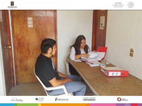 """<a href=""""/bolsa-empleo-en-tu-colonia-jiutepec"""">SNE Morelos lleva a cabo la Bolsa de trabajo en la colonia La Constitución</a>"""