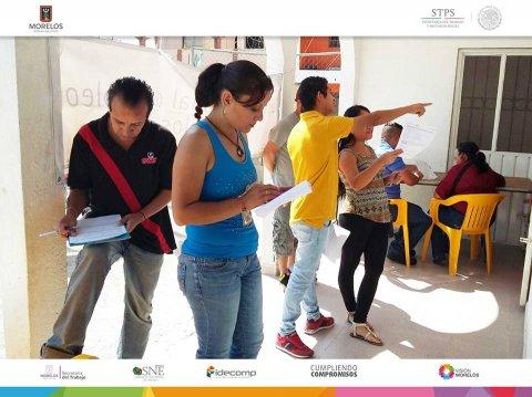"""<a href=""""/bolsa-empleo-jiutepec-marzo"""">SNE Morelos lleva a cabo la Bolsa de Trabajo en la Colonia en Jiutepec.</a>"""