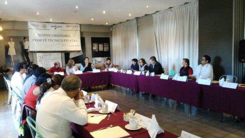 "<a href=""/reunion-prospera-sne-morelos"">12° sesión del Comité Técnico Estatal de Prospera.</a>"