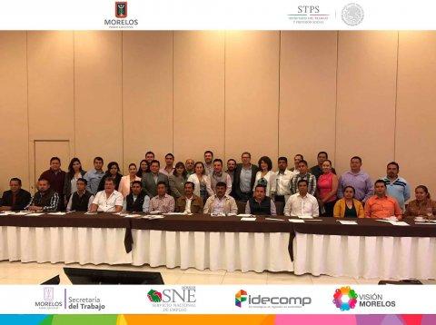 """<a href=""""/reunion-enlaces-municipales"""">La Secretaría del Trabajo Morelos y el SNE Morelos Presentes en el encuentro de Trabajo con...</a>"""