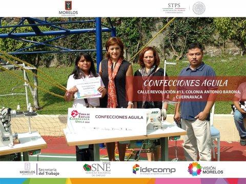 """<a href=""""/FA-octubre-proyectos-productivos"""">En el mes de octubre, la Secretaría del Trabajo Morelos y el SNE Morelos entregaron maquinar...</a>"""