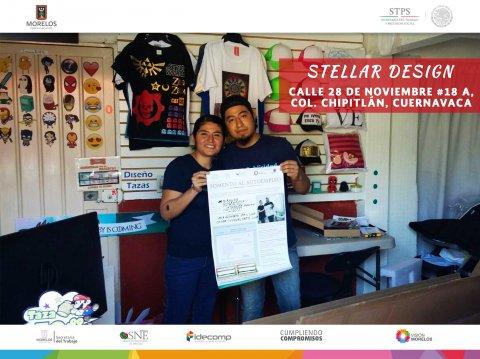 Stellar Design Cuernavaca  Fomento al Autoempleo Monto $23,316