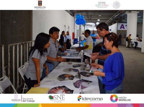 SNE Morelos llevó a cabo la 1° Feria de Empleo Zacatepec 2017