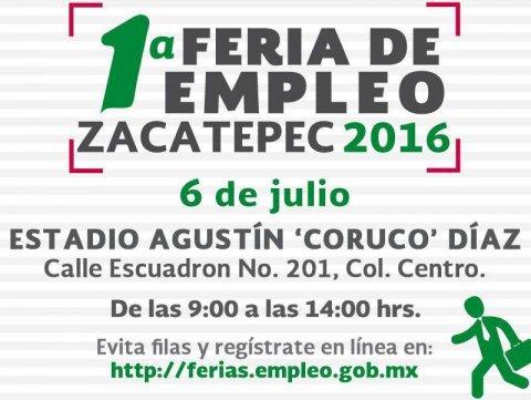 """<a href=""""/noticias/1a-feria-de-empleo-zacatepec-2016"""">1ª Feria de Empleo Zacatepec 2016</a>"""
