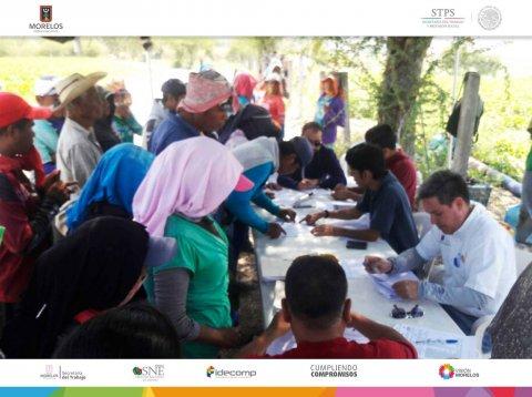 """<a href=""""/jornaleros-agricolas-gro"""">SNE Morelos entrega apoyos en modalidad de destino a jornaleros.</a>"""