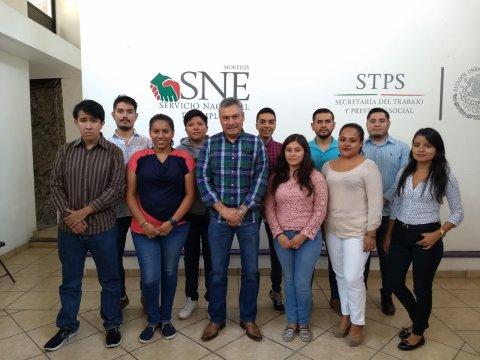 """<a href=""""/jovenesconstruyendoelfuturo-sne-morelos"""">Inicio de Capacitación de Jovenes Construyendo el Futuroen las oficinas del SNE Morelos</a>"""