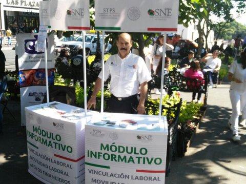 """<a href=""""/modulo-informativo-del-sne-morelos"""">Módulo informativo de la Secretaría del Trabajo Morelos a través del SNE Morelos en la Feria...</a>"""