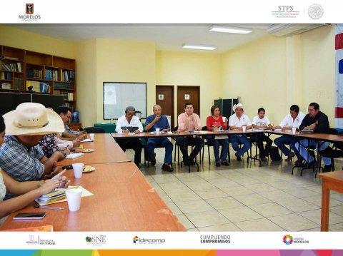 Reunión y Plática informativa al Congreso Agrario Permanente Morelos