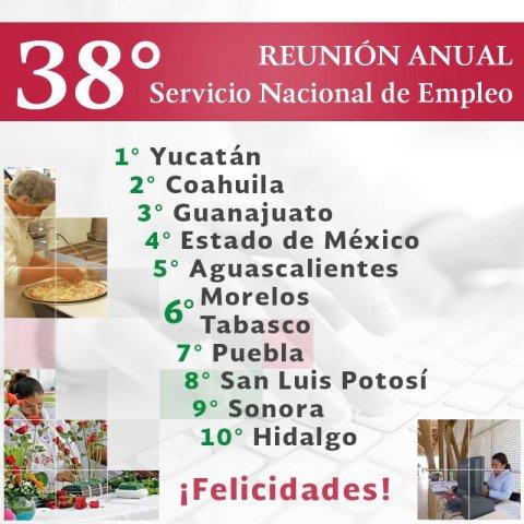 """<a href=""""/felicitacion-primeros-lugares-sne"""">SNE Morelos felicita y reconoce el esfuerzo de las oficinas en Guanajuato, Coahuila y Yucatá...</a>"""