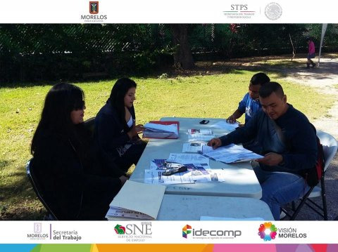 """<a href=""""/reclutamiento-cedif-temixco-febrero"""">SNE Morelos lleva a cabo la Bolsa de Trabajo en tu Colonia en el CEDIF Temixco</a>"""