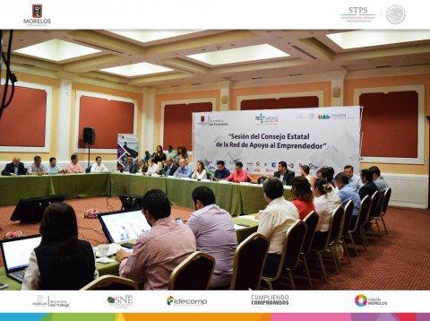 """<a href=""""/sne-en-consejo-estatl-emprendedor"""">SNE Morelos presente en Sesión del Consejo Estatal de la Red de Apoyo al Emprendedor</a>"""