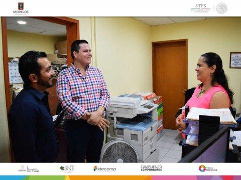 """<a href=""""/visita-secretario-del-trabajo-a-sne-morelos"""">Visita Secretario del Trabajo instalaciones del Servicio Nacional de Empleo Morelos</a>"""